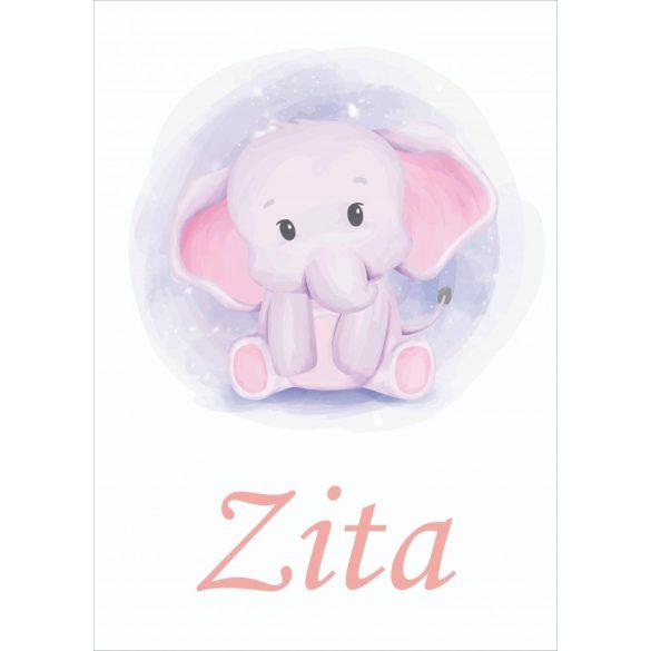 NEVES TAKARÓ- Elefánt Lány