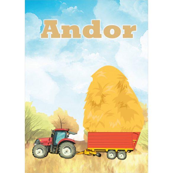 NEVES TAKARÓ- Traktoros