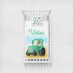 NEVES TAKARÓ-  Zöld Traktor