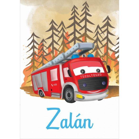 NEVES TAKARÓ- Tűzoltó autó