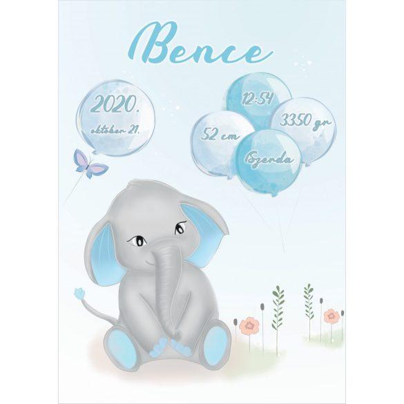 ÚJSZÜLÖTT BABATAKARÓ - Elefánt fiú