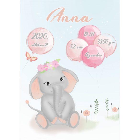 ÚJSZÜLÖTT BABATAKARÓ - Elefánt Lány