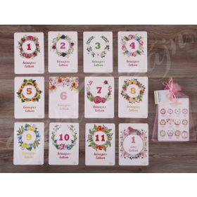 Babakártyák / Mérföldkő kártyák