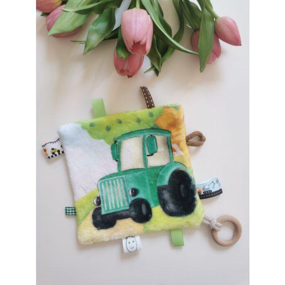 Cimkerongyi - Zöld traktor