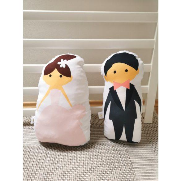 Formapárna- Esküvői pár