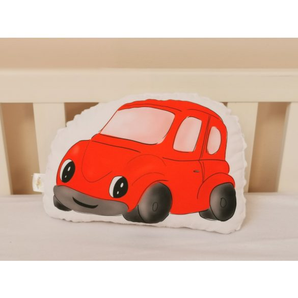 Gépjárműves kollekció - Autó - Piros  (saját grafika)