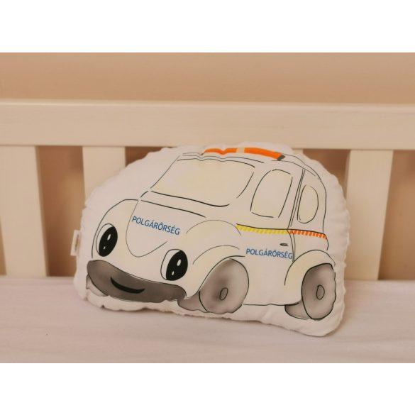 Gépjárműves kollekció - Autó - Polgárőrség  (saját grafika)