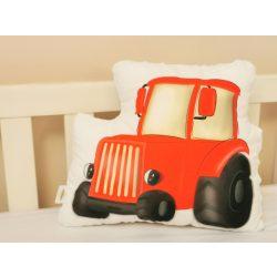 Gépjárműves kollekció - PIROS Traktor (saját grafika)