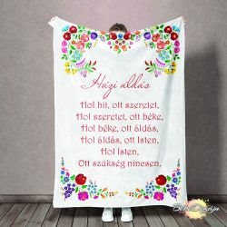Felnőtt takaró- Házi áldás