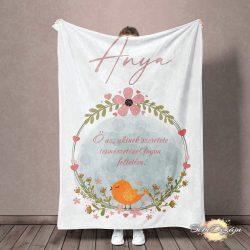 Felnőtt takaró- Női mintával