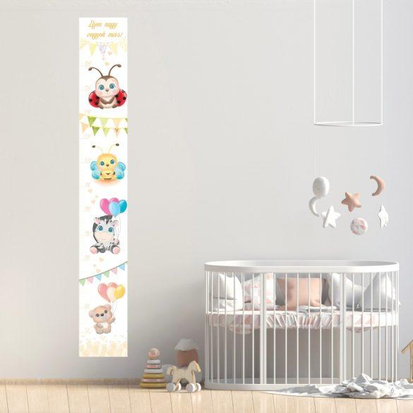 Magasságmérő- Cuki Unisex