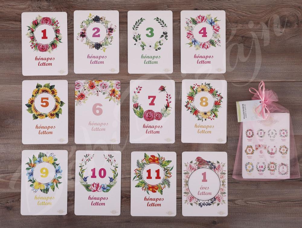 Mérföldkő kártyák